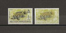 BRITISH HONDURAS 1969/72 SG 277A MNH Cat £500