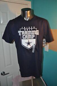 Dallas Cowboys Youth TX Training camp 2017 Navy Blue T-Shirt Multiple Sizes NWT