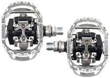 New Shimano PD-M545 SPD Pedals Mtb Mountain Bike Clipless DH Pedals
