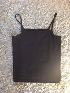 Wolford Black Cotton Blend Camisole / Vest - Medium - Used Vgc