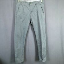 Levis Pants Mens 30x32 Gray Slim Fit Mid Rise Casual