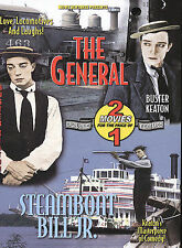 The General / Steamboat Bill Jr., Dvd, Buster Keaton, Multi, Very Good