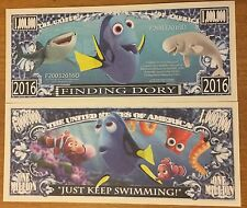 Disney Finding Dory Million Dollar Bill