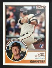 2015 Topps Archives #261 Gary Brown RC - NM-MT
