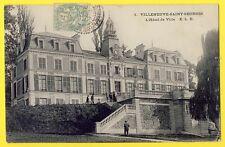 cpa 94 - VILLENEUVE ST GEORGES Hôtel de Ville Château de BEAUREGARD Campanile