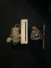 Nintendo Wii Console White With All The Leads. Tested & Working