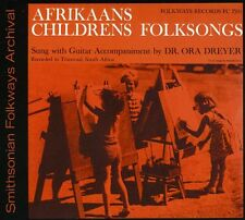 Dr. Ora Dryer - Afrikaans Children's Folksongs [New CD]