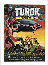 "TUROK, SON OF STONE #45 [1965 GD] ""THE LAND OF THE PLANT PEOPLE"""