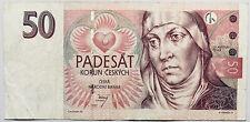 Czechia Banknote Czech Republic 50 KorÚN Koruna (Czechoslovakia) 1997 Pre Coin