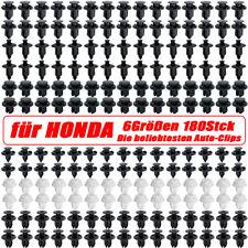 180x KFZ Clips für HONDA Civic Befestigung Klips Halter Spreizniet StoßstangenDE