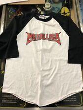 Metallica 2003 ONE Concert music T-Shirt L Long Sleeve EUC White
