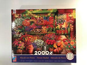 Ceaco Puzzle 'FLOWER MARKET' 2000 piece