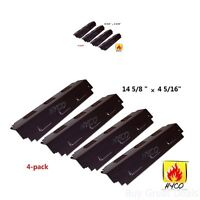 Gas Grill 4 Heat Plates BBQ Shield Porcelain Steel for Charbroil 98741 New