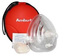 RM-3034-005 Lot of 5 Ambu Res-Cue Mask Professional CPR Pocket Resuscitators