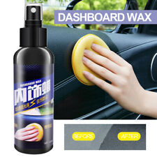 120ML Auto Care Car Interior Wax Seat Polish Dashboard Cleaner Leather Tools