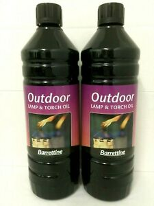 2 LITRES OF OUTDOOR HIGH QUALITY PREMIUM  TORCH AND LAMP OIL NEW BA