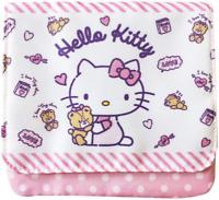 JAPAN SANRIO Hello Kitty Cat Pink Heart Bear Fun Purse Portable Pocket Pouch Bag