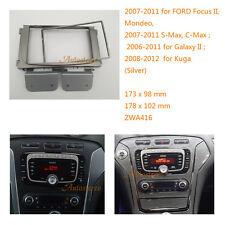 Din Car Radio fascia for FORD Focus II Mondeo S-Max C-Max 2007-2011 Galaxy Kuga