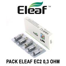 5 Résistances ELEAF EC2 - 0,3 Ohm - pour MELO 4, MELO 3 et VAPORESSO TARGET PRO