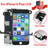 For iPhone 8 Plus LCD Display Digitizer Assembly Touch Screen Replacement+Camera