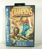 Eternal Champions - Sega Mega Drive - Boxed - Very Good Condition - Retro