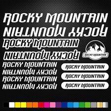 ROCKY MOUNTAIN  aufkleber sticker set abziehbild decal fahrrad bike mtb bmx road
