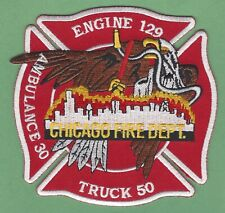 CHICAGO FIRE DEPARTMENT ENGINE 129 TRUCK 50 COMPANY PATCH