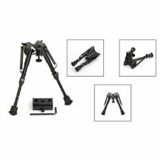 Universal Bipod 6-9 Inches Spring Metal Sling Swivel Rifle Hunting/+Adapter Us