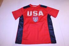 Youth Team USA Soccer L Athletic Performance Shirt (Red)