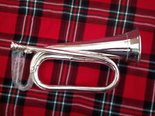 Professional BB Bugle Silver Plated With Hand Carrying Case/tuneable
