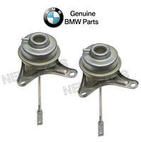 For BMW E60 E61 E82 E88 E90 Pair Set of Rear & Front Turbocharger WastegateOES