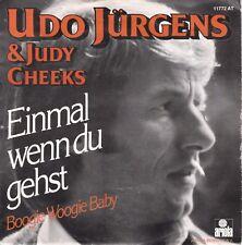 7inch UDO JÜRGENS & JUDY CHEECKS einmal wenn du gehst HOLLAND 1978 EX (S0815)