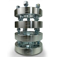 Wheel Spacers 5x4.75 1.25 inch Thick 12x1.50mm Stud Billet Aluminum Set of 4