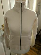 Franklin & Marshall Full Zip Stretch Wool Cardigan BNWT RRP £69 L Made In Italy