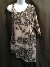ANGIE Knit Butterfly TUNIC Top Jr. Women's Size SMALL