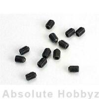 Traxxas 3mm Hardened Set Screws (12) - TRA2743