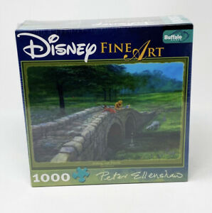 Disney Winnie the Pooh 1000 Pc Puzzle by Peter Ellenshaw Fishing With Friends