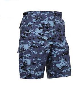 Rothco 67313 Sky Blue Digital Camo BDU Shorts