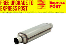 "Flowmaster Hushpower Super HP-2 Muffler Oval, 2-1/2"" Inlet/Outlet T7"