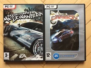 PC Need for Speed Most Wanted & Carbon (Complete)