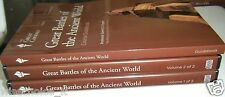Great Battles of the Ancient World  Guide Book with 2 X CD's