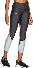 Under Armour Fly Fast Womens Cropped Running Tights - Grey