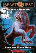 Amulet Of Avantia: Luna The Moon Wolf (Turtleback School & Library-ExLibrary