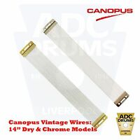 "Canopus Vintage Snare Drum Wires: 14""/20 Strand - DR/NP Model (Made in Japan)"