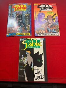 FIRST COMICS - SABLE JON FREELANCE 1983-84 - ISSUES 2 3 & 11