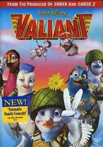 GOOD DVD WALT DISNEY Valiant 2005 Ewan McGregor Ricky Gervais