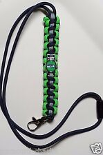 Seattle Seahawks String Neck Paracord Lanyard or Bracelet or Deluxe Key Chain