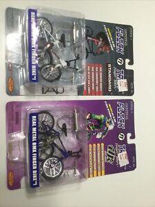 Flick Trix Finger Bike 1999 Series 1 Rare Standard Tao DK BMX Vintage Set of 2