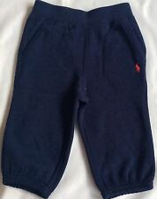 New Ralph Lauren Boys Fleece Pull-on Pant /tracksuit Bottoms Joggers 6M