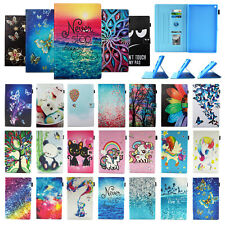 """For Kindle Fire HD 10 2019 10.1"""" Cute Flip Leather Wallet Smart Case Stand Cover"""